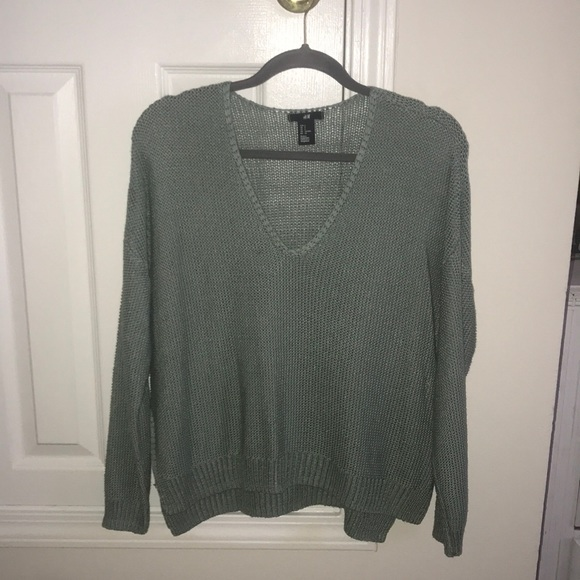 H&M Sweaters - Mint loose fit sweater